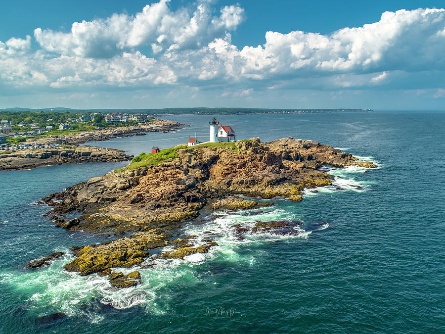 Nubble In July by Michael Hughes