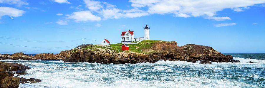 Nubble Light 3x1 by Robert Clifford