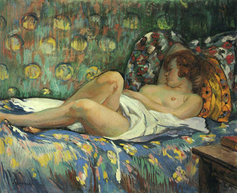 Nude In Repose Painting