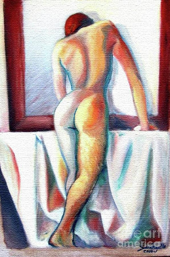 Nude Painting by Raquel Sarangello