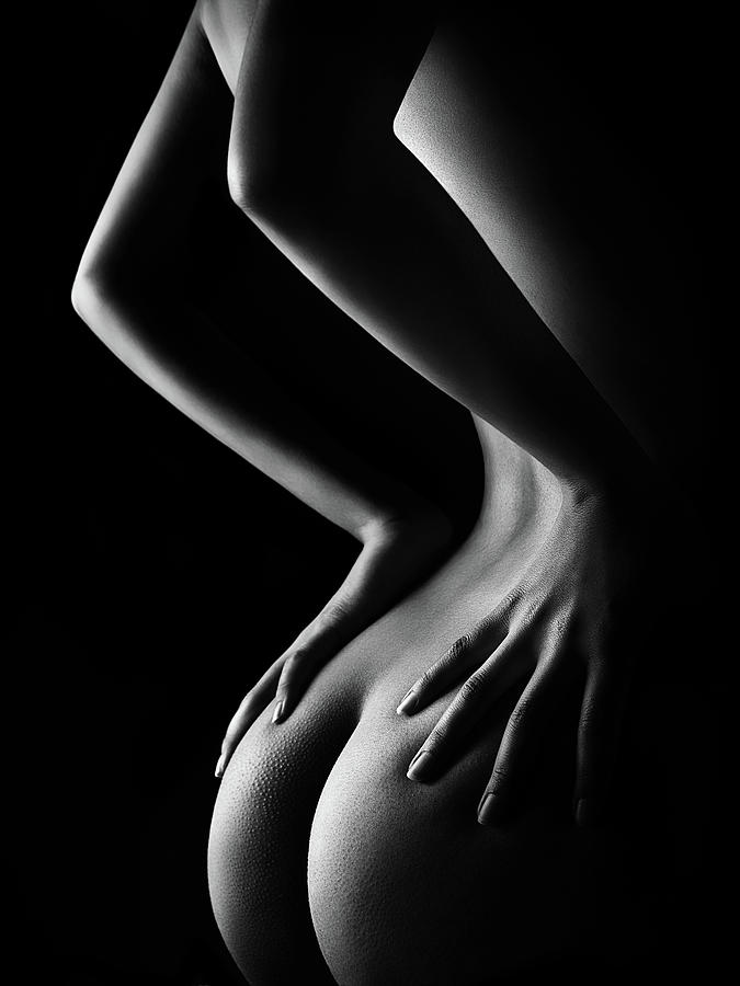 Nude Woman Bodyscape 39 Photograph