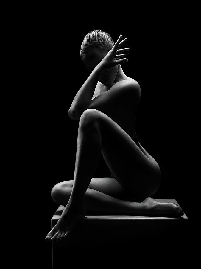 Nude Woman Bodyscape 41 Photograph