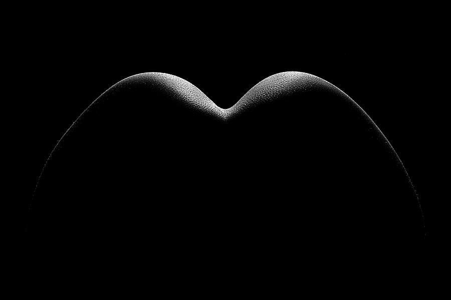 Woman Photograph - Nude Woman Bodyscape 8 by Johan Swanepoel