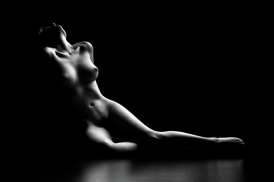 Nude woman bodyscape by Johan Swanepoel