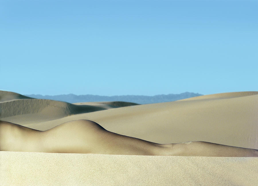 Nude Woman In Desert Photograph by Seth Goldfarb