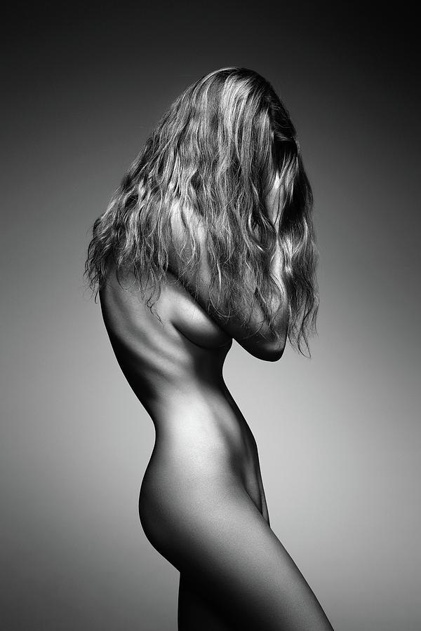 Nude Woman Sensual Body Photograph