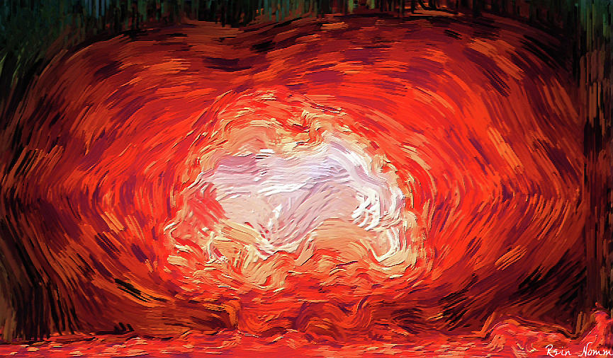 Great Ball of Fire by Rein Nomm
