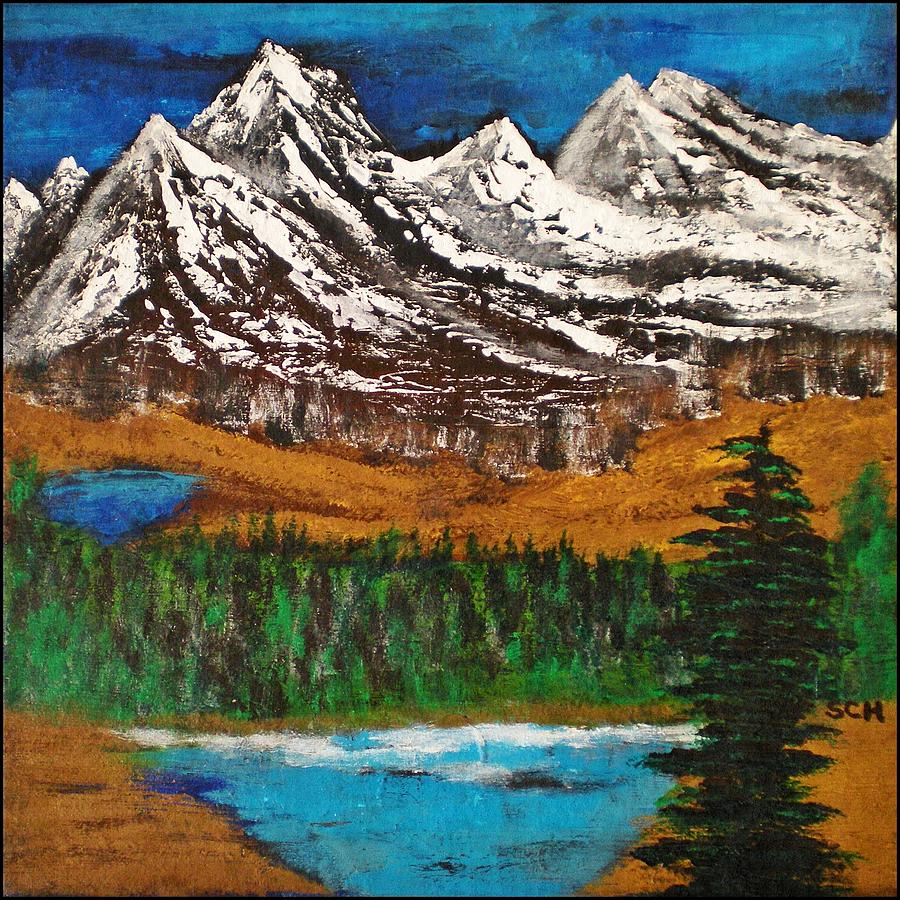 Abstract Painting - Number Four - Call Of The Wild by Scott Haley