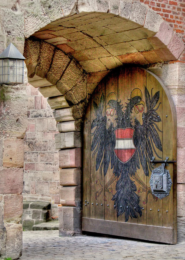 Nuremberg Castle Door by Doug Matthews