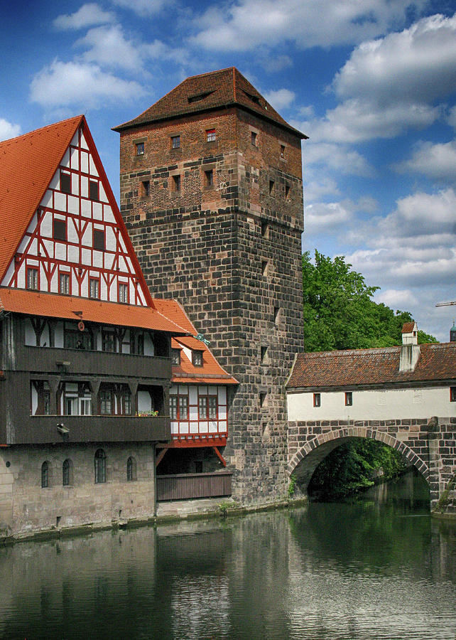 Nuremberg Medieval Buildings by Doug Matthews