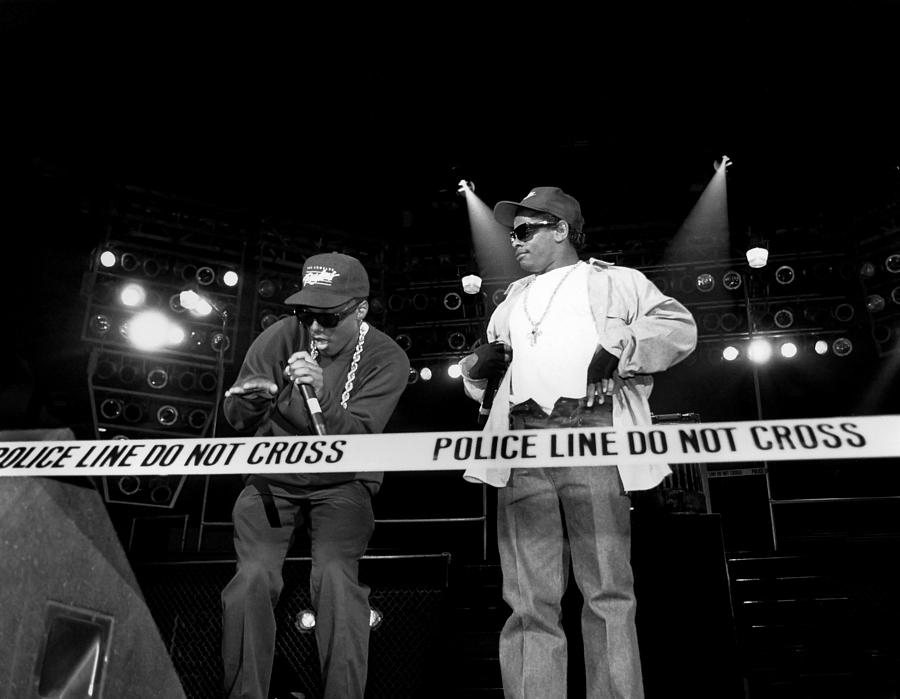 N.w.a. Live In Concert Photograph by Raymond Boyd