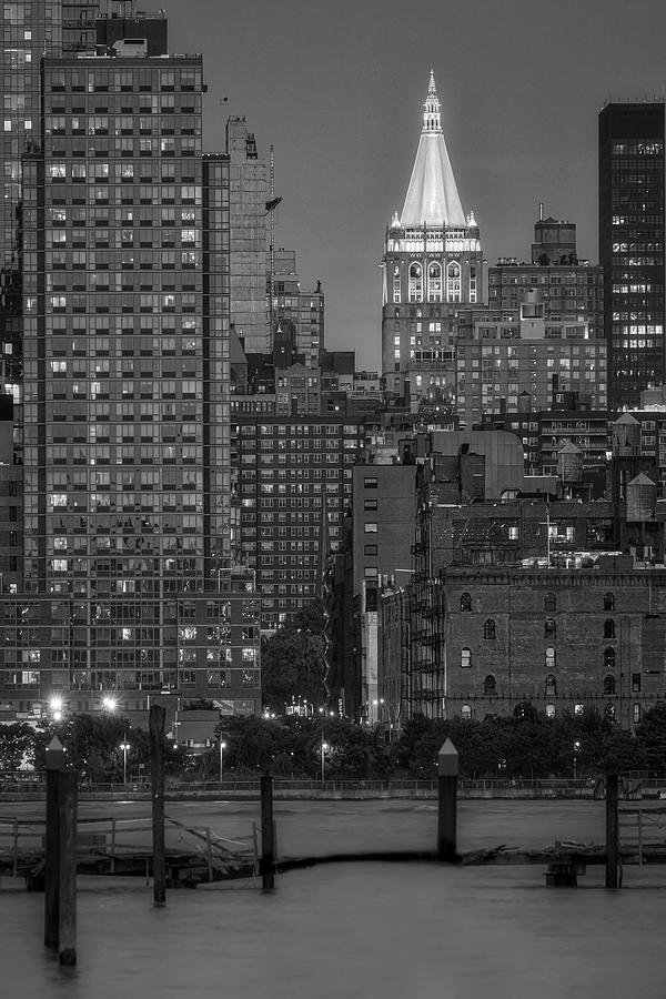 NY Life Building BW by Susan Candelario