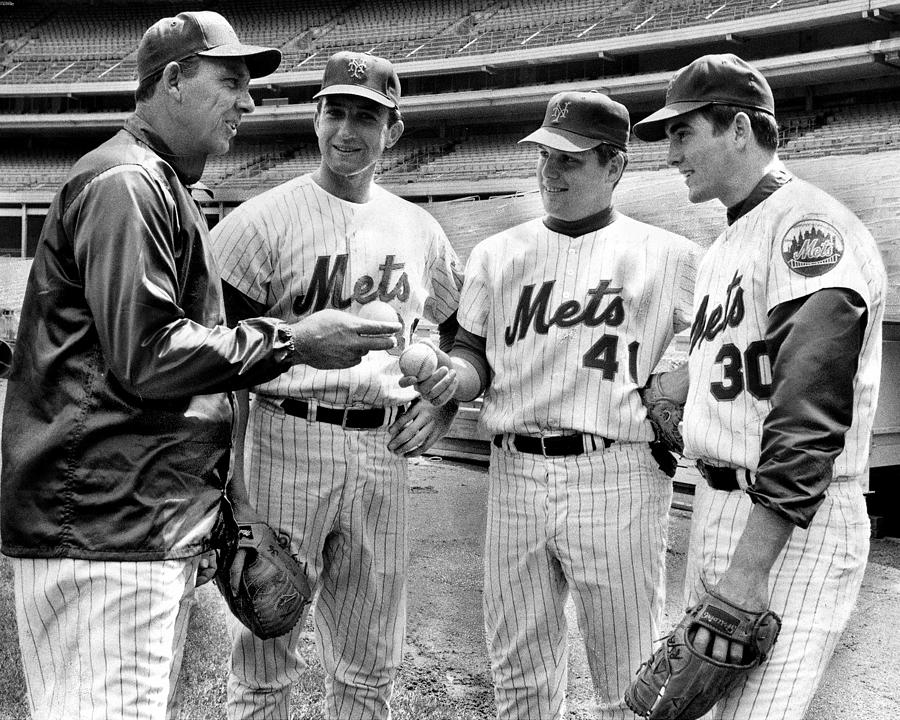 N.y. Mets Manager Gil Hodges Sports A Photograph by New York Daily News Archive