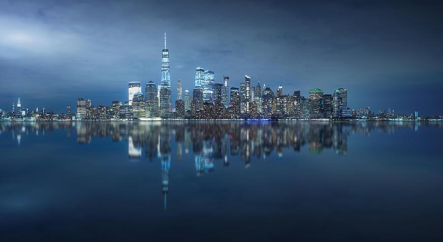 Ny Skyline Photograph by Carlos F. Turienzo
