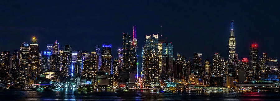 NYC at Night by Francisco Gomez