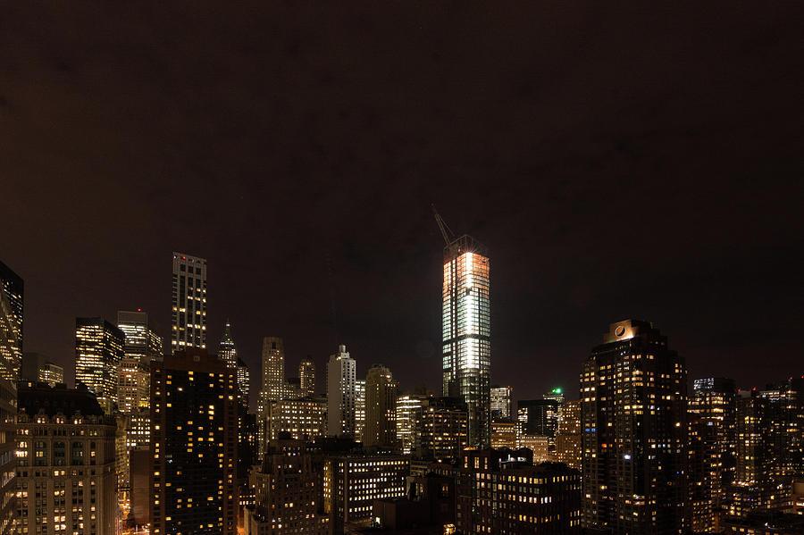 NYC at Night by Kaishin Chu