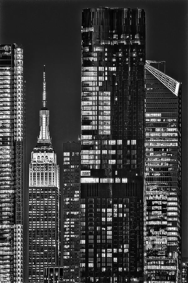 NYC ESB Empire State Building  BW by Susan Candelario