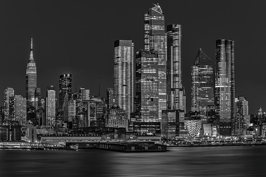 NYC Hello Hudson Yards BW by Susan Candelario