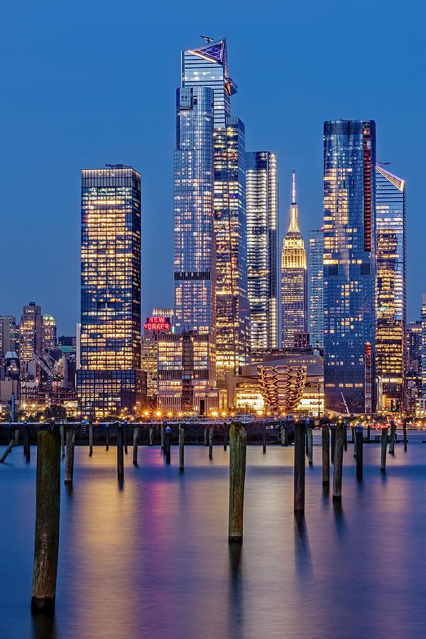 NYC Hudson Yards Skyline by Susan Candelario