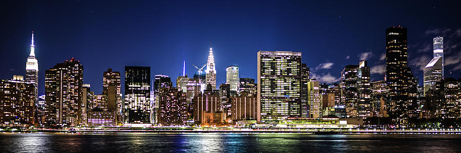 NYC Nightshine by Theodore Jones
