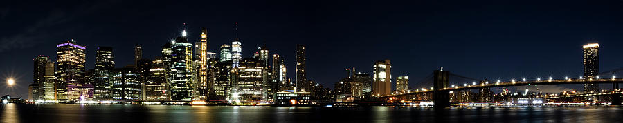 NYC Panorama by MARLO HORNE
