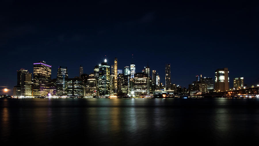NYC Skyline by MARLO HORNE