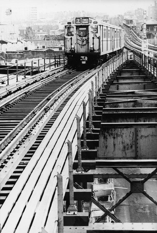 Nyc Subway Photograph by Hulton Archive
