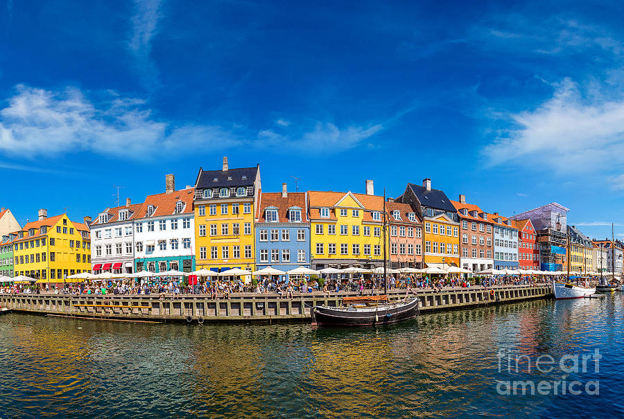 Capital Photograph - Nyhavn District Is One Of The Most by S-f