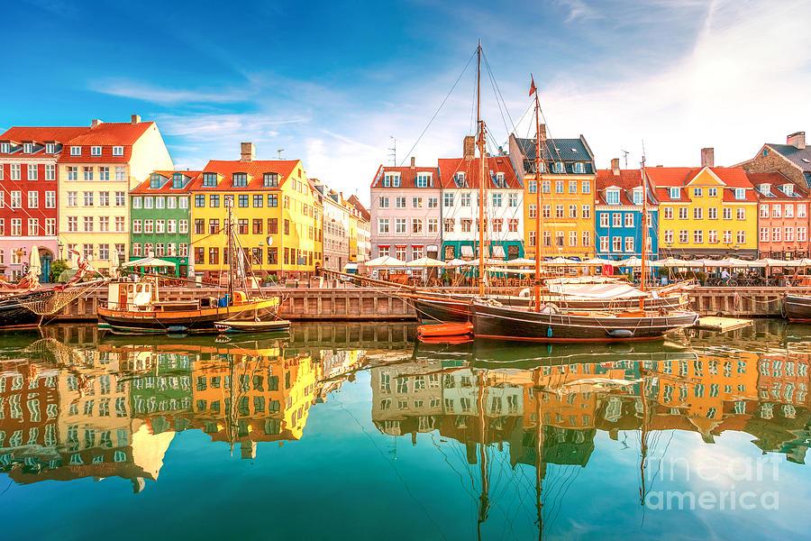 Capital Photograph - Nyhavn, Kopenhagen by Lamiafotografia