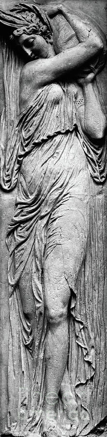Relief Relief - Nymph From The Reliefs From The Fountain Of The Innocents by Jean Goujon