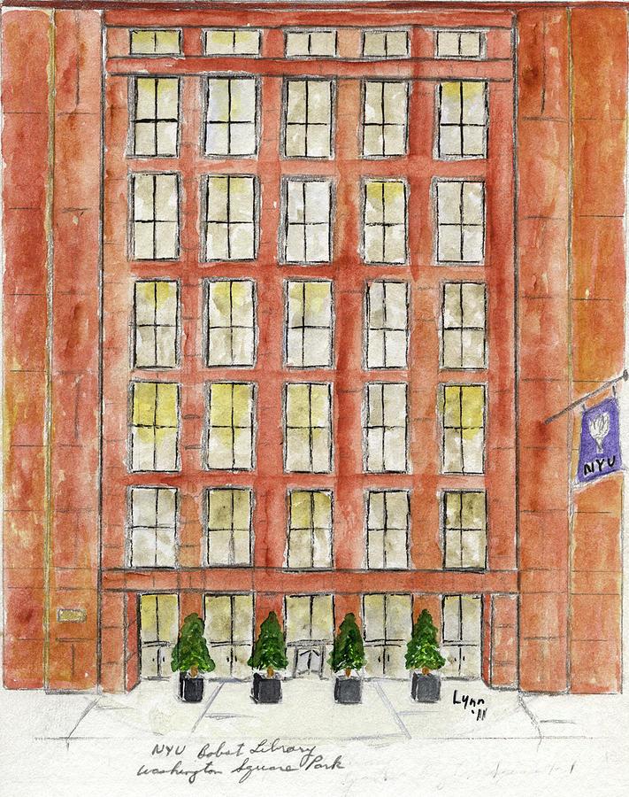 NYU Bobst Library by Afinelyne
