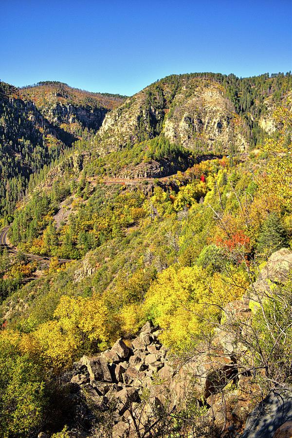Oak Creek Canyon Fall Colors, Arizona by Chance Kafka