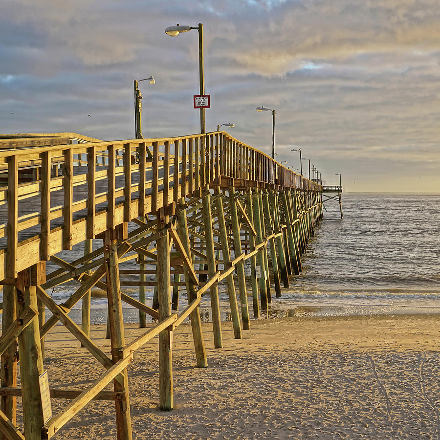 Oak Island Pier by Don Margulis