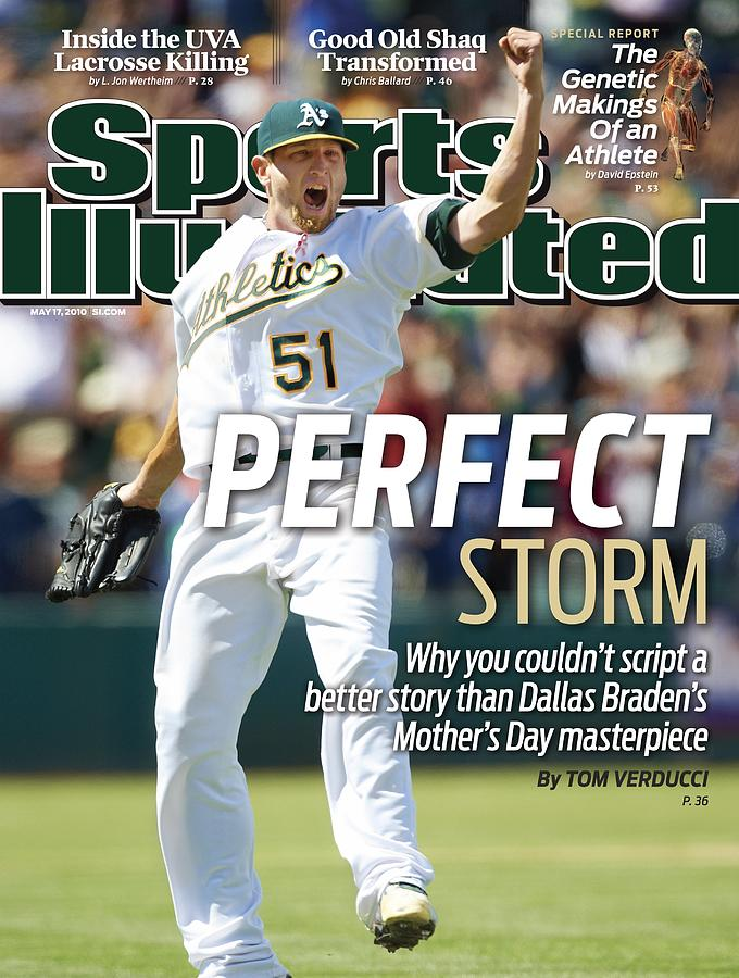 Oakland Athletics Dallas Braden... Sports Illustrated Cover Photograph by Sports Illustrated