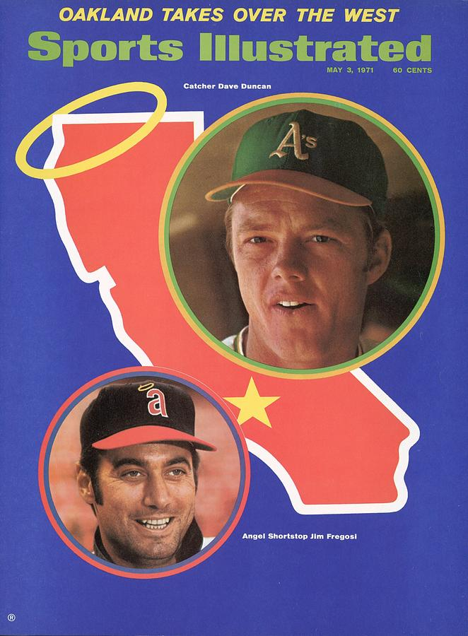 Oakland Athletics Dave Duncan And California Angels Jim Sports Illustrated Cover Photograph by Sports Illustrated