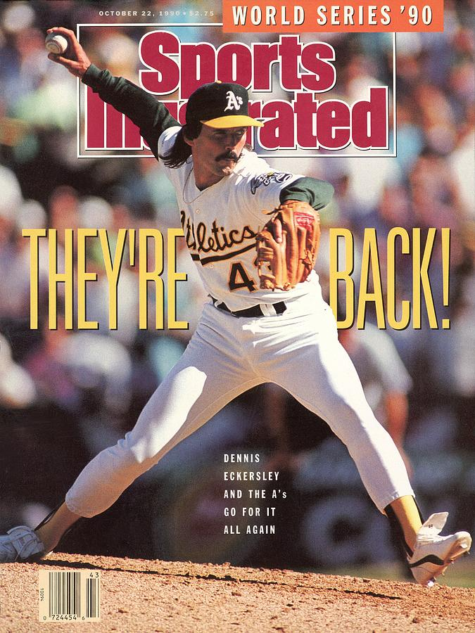 Oakland Athletics Dennis Eckersley, 1990 Al Championship Sports Illustrated Cover Photograph by Sports Illustrated