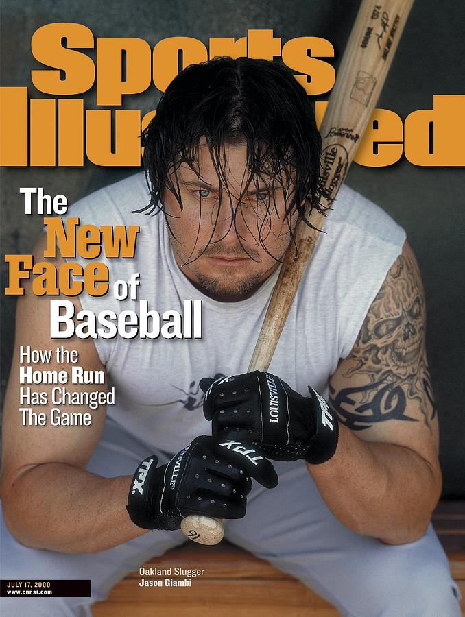 Oakland Athletics Jason Giambi Sports Illustrated Cover Photograph by Sports Illustrated
