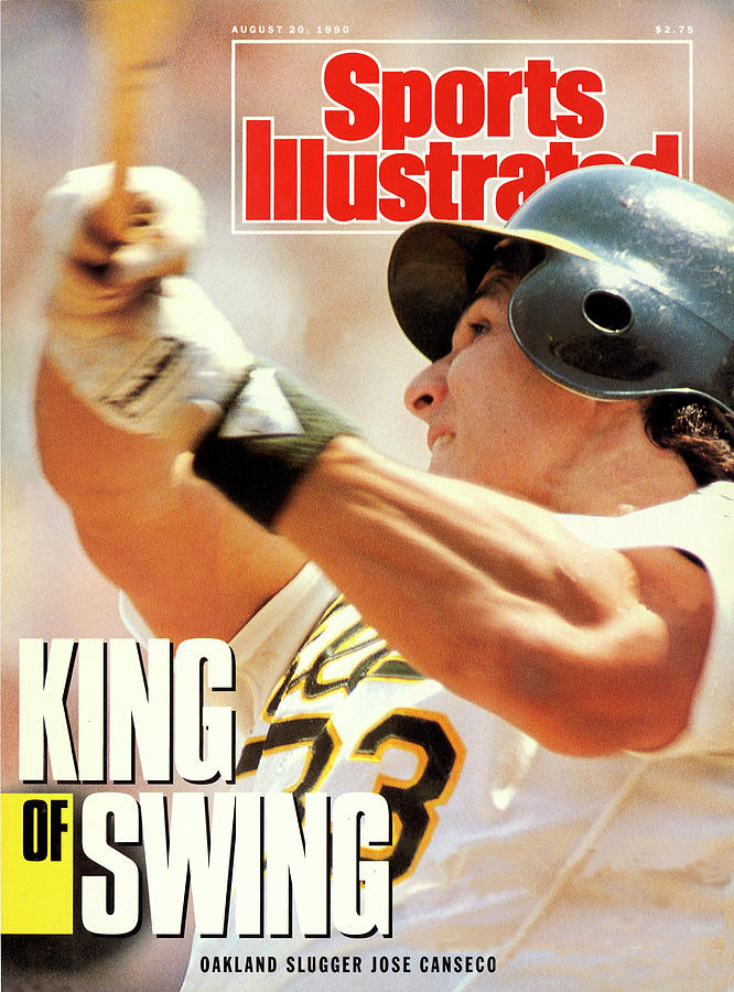 Oakland Athletics Jose Canseco Sports Illustrated Cover Photograph by Sports Illustrated