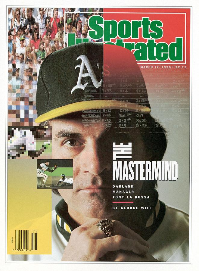 Oakland Athletics Manager Tony La Russa Sports Illustrated Cover Photograph by Sports Illustrated