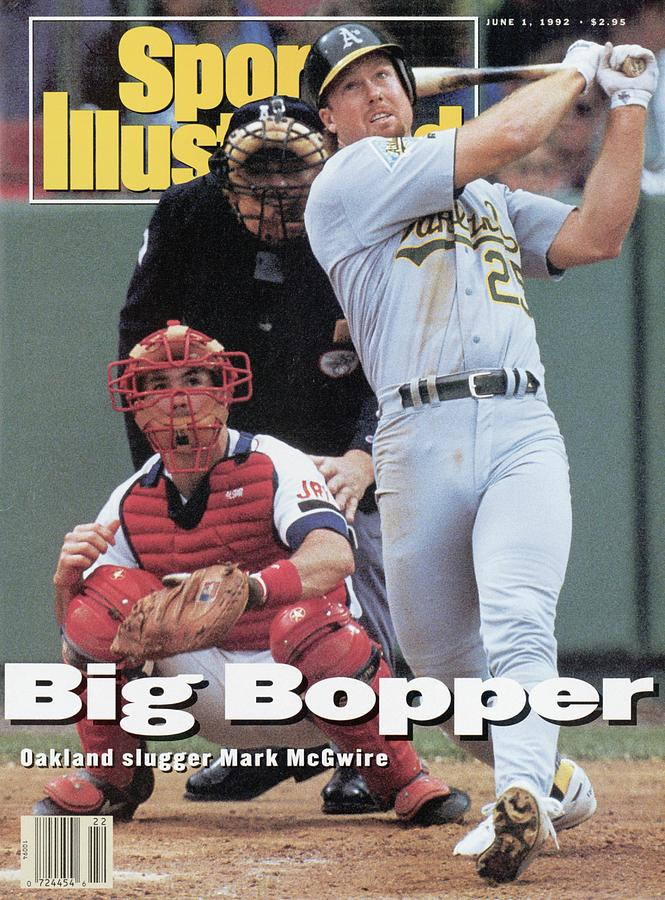 Oakland Athletics Mark Mcgwire... Sports Illustrated Cover Photograph by Sports Illustrated