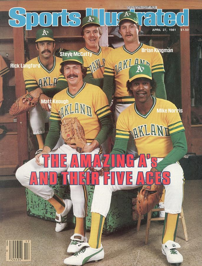 Oakland Athletics Pitchers Sports Illustrated Cover Photograph by Sports Illustrated