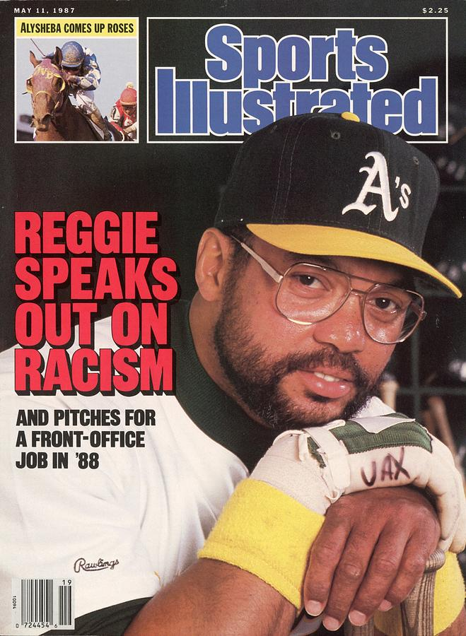 Oakland Athletics Reggie Jackson Sports Illustrated Cover Photograph by Sports Illustrated