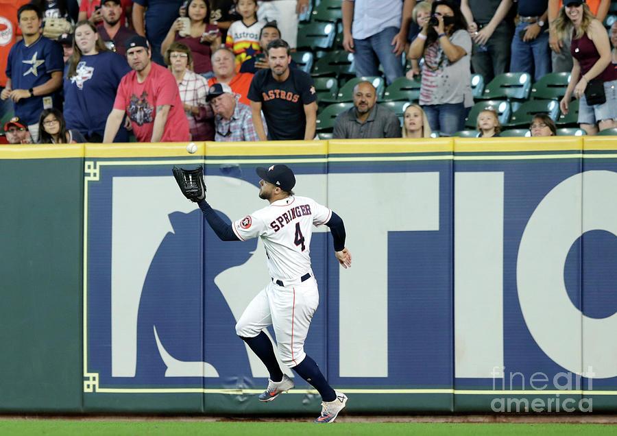 Oakland Athletics V Houston Astros Photograph by Tim Warner