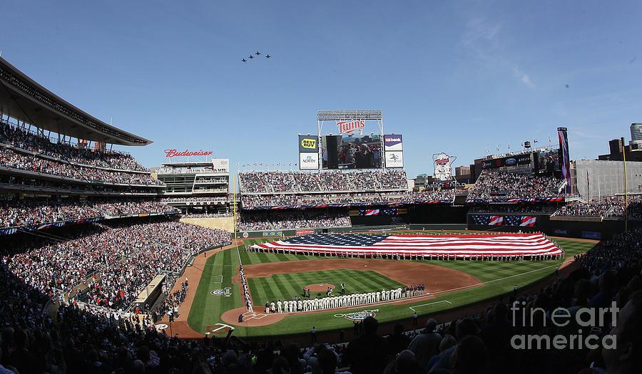 Oakland Athletics V Minnesota Twins Photograph by Elsa