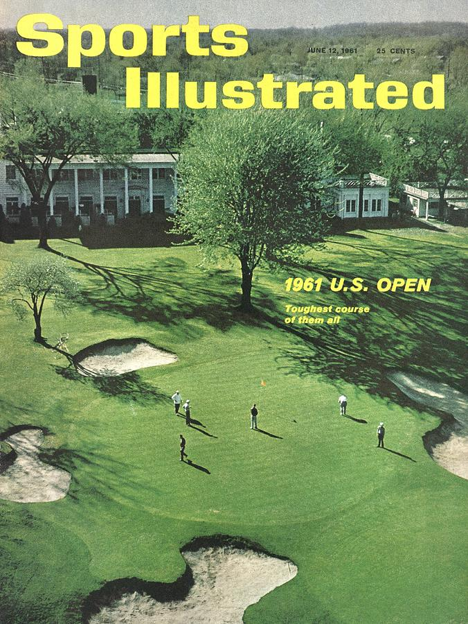 Oakland Hills Country Club Sports Illustrated Cover Photograph by Sports Illustrated