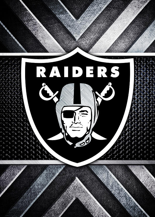 Oakland Raiders Logo Art Digital Art By William Ng