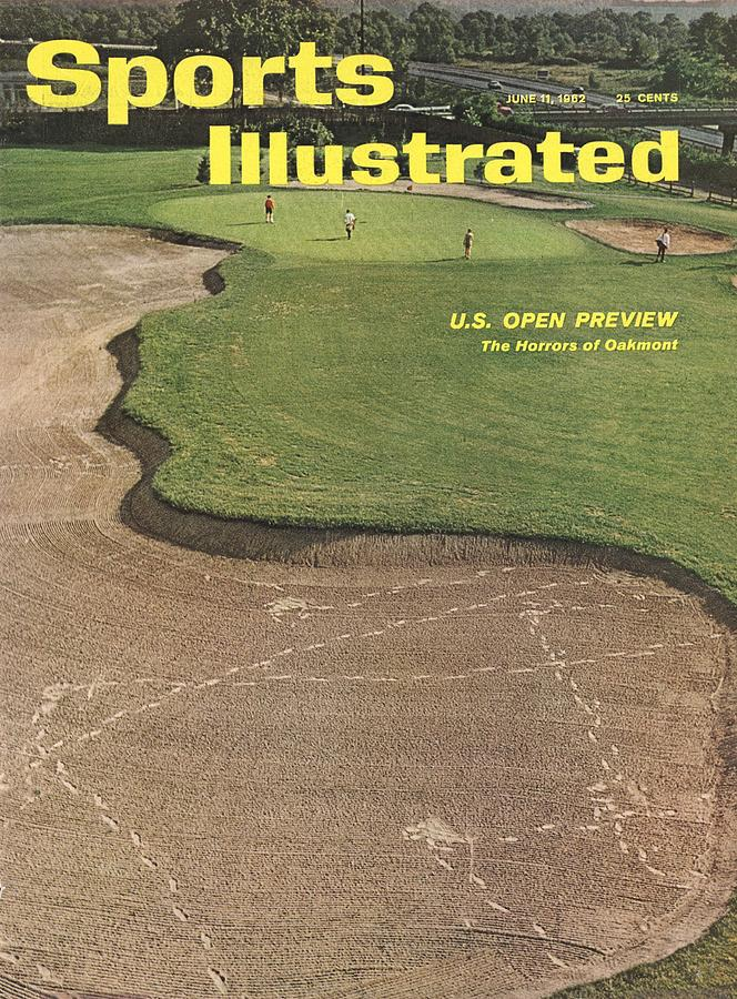 Oakmont Country Club Sports Illustrated Cover Photograph by Sports Illustrated