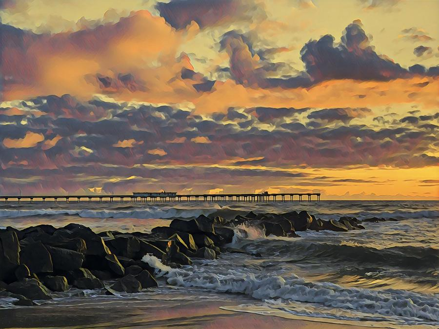 OB Sunset No. 3 by Keith McGill
