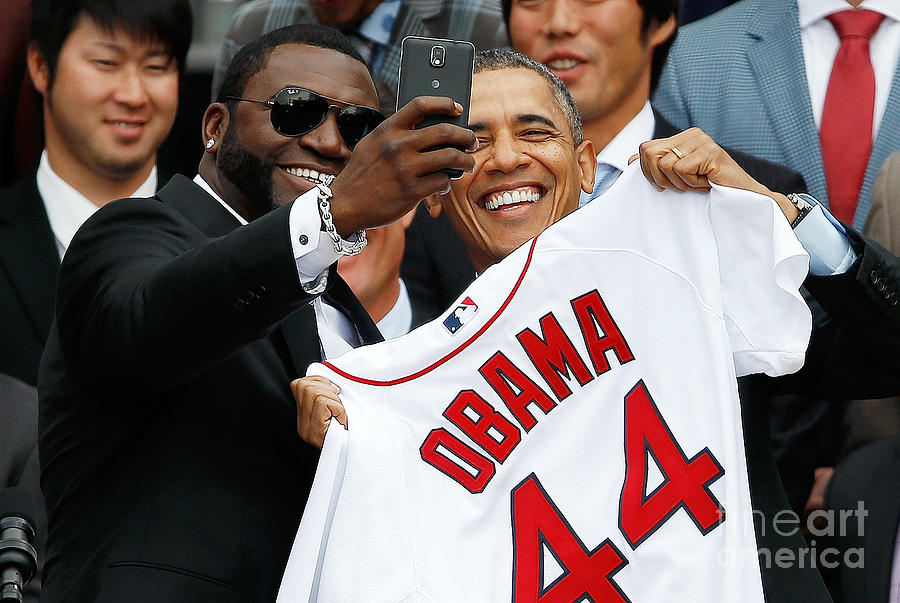 Obama Welcomes World Series Champions Photograph by Win Mcnamee