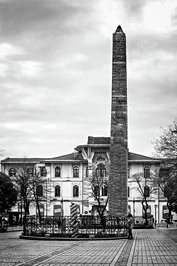 Obelisk and Column by Maria Coulson